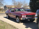 1970 Chevrolet Chevelle  for sale $15,000