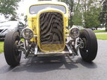 32 Ford coupe frame, chopped and channeled 46 Ford cab.  for sale $44,500