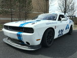 11 Dodge Challenger Race Car - Body on White - Arrington Mot  for sale $35,000