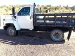 Chevy Kodiak C5500 Diesel flatbed work truck - 16,847 miles  for sale $33,000