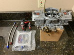 Holley T4 850 Carb w Induction Solutions Nitrous Plate  for sale $625