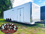 In Stock! 34' Bathroom Trailer