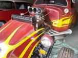 *** CRAZY RED VW RAT ROD ***