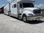 2003 Freightliner Renegade w/ 44 ft '13 United 3 Car Stacker  for sale $157,000