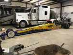 Dragster and 40' enclosed trailer