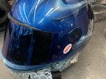 Bell Custom Air Brushed Full Face Helmet  for sale $250