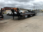 Pj 40 ft gooseneck trailer with hydraulic dove and jacks&nbs