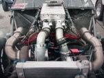 Aluminum 598 CI Turbo Engine Capable Of 3500 Horsepower  for sale $28,500