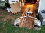 exhaust system for dodge challenger 6.1   for sale $1,000