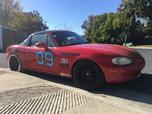 99 NB Specmiata Spec Miata race winning car