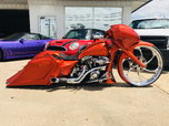 harley davidson custom roadglide show bike