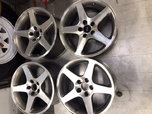 "Mustang Cobra 17"" wheels  for sale $350"