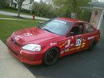 2000 Honda Civic Si, Classed as STL (Super Touring Lite)  for sale $11,000