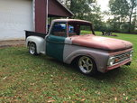 1964 F100 Custom Cab Tubbed Step Side Pick Up Truck  for sale $6,900