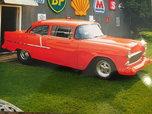 1955 Chevy 2 door post  for sale $40,000