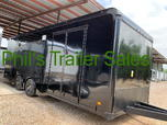 24 BLACKED OUT HAULMARK EDGE PRO ENCLOSED RACE TRAILER HAULM  for sale $20,999