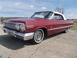 1963 Impala Convertible dual quad 409 4-spd