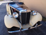 1952 MG TD  for sale $47,900