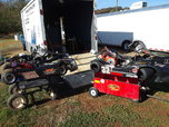 Two karts, complete race team  for sale $3,000
