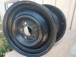 4 x 15in Steel Wheels Front Runners GM 4-3/4  for sale $200