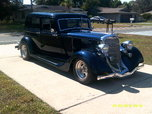 1934DODGE BROUGHAM  for sale $32,500