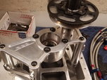 SBC RCD crank support, hub, timing wheel  for sale $700