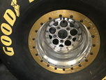 Weld Double bead locks with Goodyear slicks  for sale $1,000