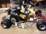 Emmick Falcom go kart,  for sale $1,000