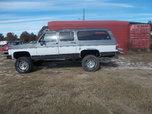 88 suburban 4x4 lifted