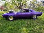 1974 Cuda Drag / Pro street car  for sale $22,000