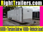 "96"" Wide Door - 8.5x28' ATC - 2019 Model BLOWOUT - 305+"