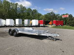 18' ALUMINUM CAR TRAILER  for sale $6,800