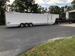 2004 44ft featherlite goose neck race trailer  for sale $45,000