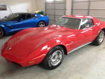 1973 Chevrolet Corvette C3 T-Tops Restored Red Beauty  for sale $34,900