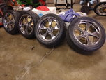 "RIDLER 645 20x8.5"" AND 20x10"" 5x5"" C10 WHEELS  for sale $1,800"