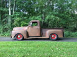 1948 FORD F1 Short Bed  for sale $12,500