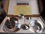 March Big block Chevy Pulley Set  for sale $150