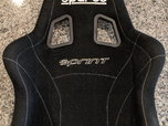 Sparco Sprint V Racing Seat Black Size USED  for sale $300