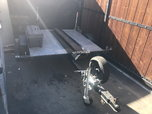 Motorcycle trailer  for sale $500