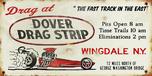Drag at Dover Dragstrip Metal Sign  for sale $29.95