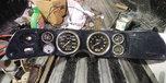 Carbon Fiber gauges and cluster from 71 Camaro  for sale $700
