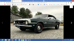 Wanted 1968 SS Camaro original paint no rust  for sale $1,234