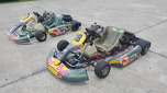 Tony Kart 125cc Rotax + CRG 125cc Rotax  for sale $4,000