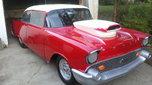 Nostalgia 57 Chevy Drag Car, 509ci Chevy Engine