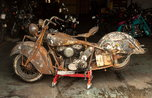 1940 Indian Chief project bike  for sale $7,500