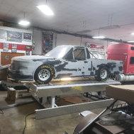 brand new chevrolet SUPER SPEEDWAY race truck