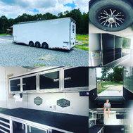 2017 Haulmark 3 axle 30ft EDGE deluxe race trailer!