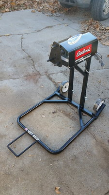 Tire Grinding Prep Stand