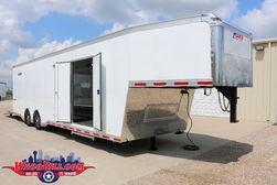 38' Enclosed Gooseneck Race CarTrailer @ Wacobill.com