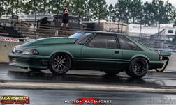 1992 Ford Mustang Stock Suspension, Nitrous Billet SBF, Fab